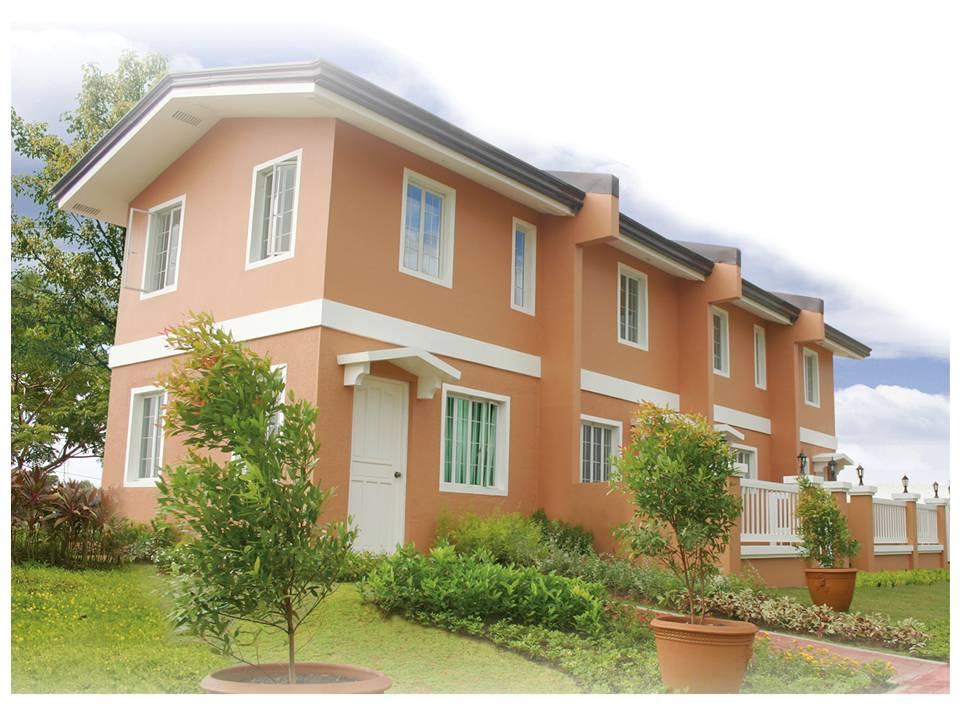 40sqm Town House, 2BR, 2T&B