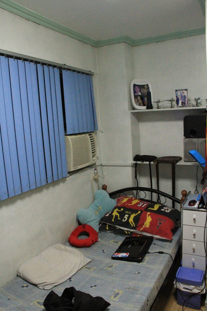 bedroom 2 of a 4 bedroom condo in Manila