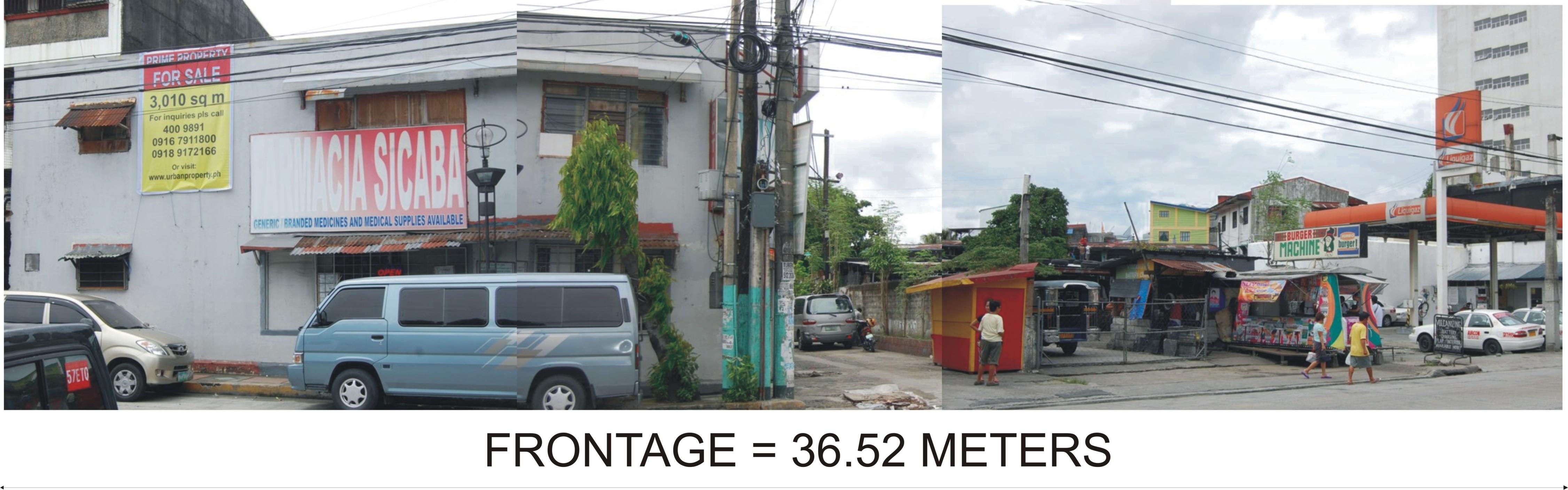 36.52 meter frontage