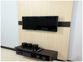 Studio Unit Entertainment area