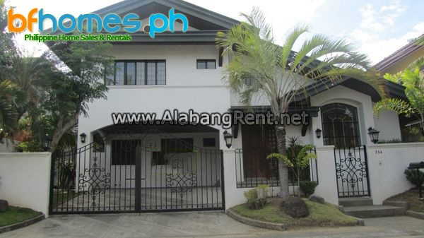 Newly Renovated 2 Story House for Rent in Ayala Alabang.