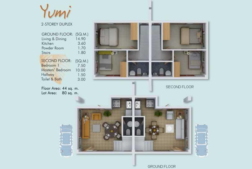 Yumi floor plan