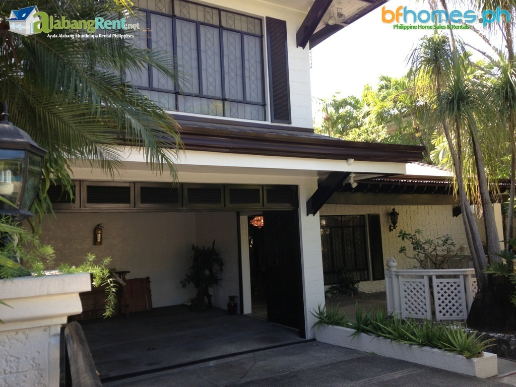 Furnished House for Rent in Ayala Alabang.