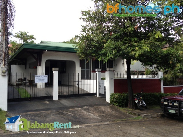Rent in Manila, Ayala Alabang Well Maintain House.