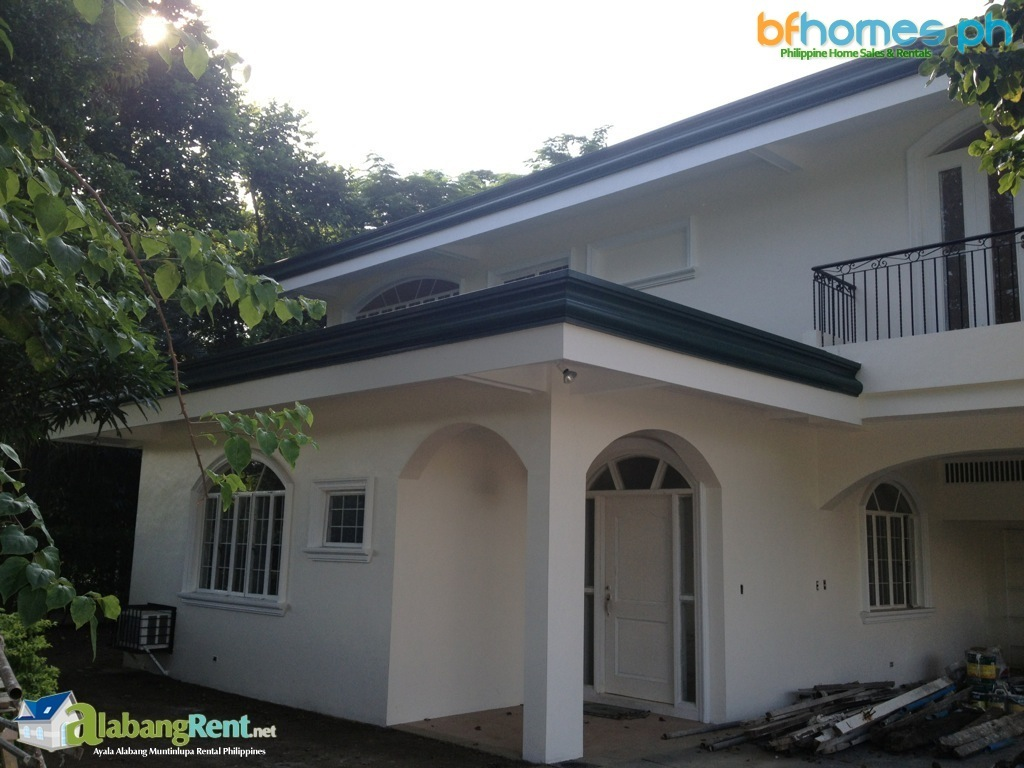House for Rent in Ayala Alabang, Refurbished 2 Story House with Pool.