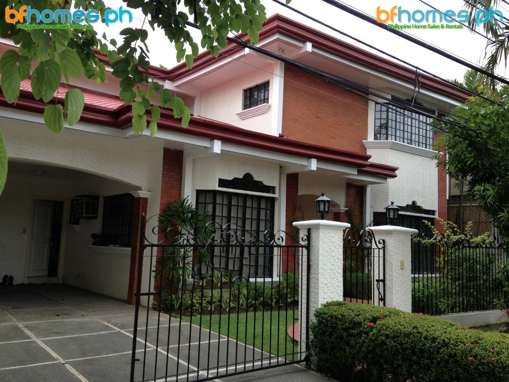 Semi-Furnished 2 Story House for Rent in Ayala Alabang Village.