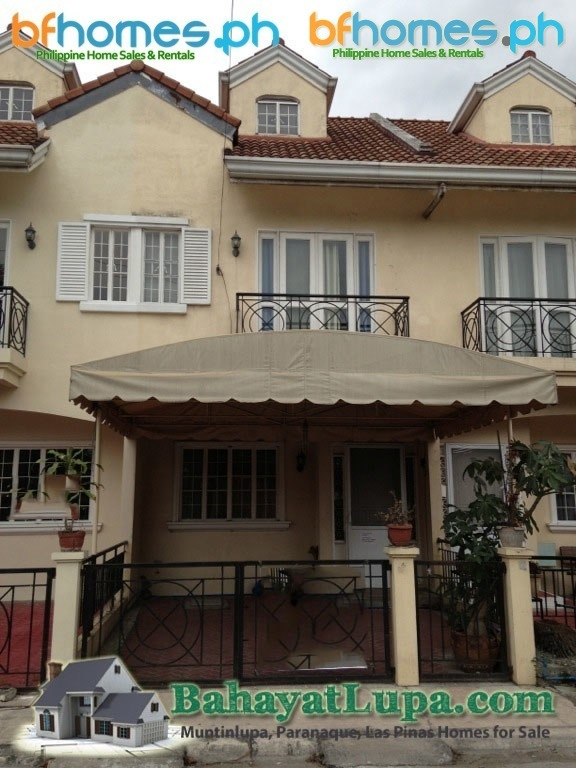 BF Resort Furnished Townhouse for Sale.