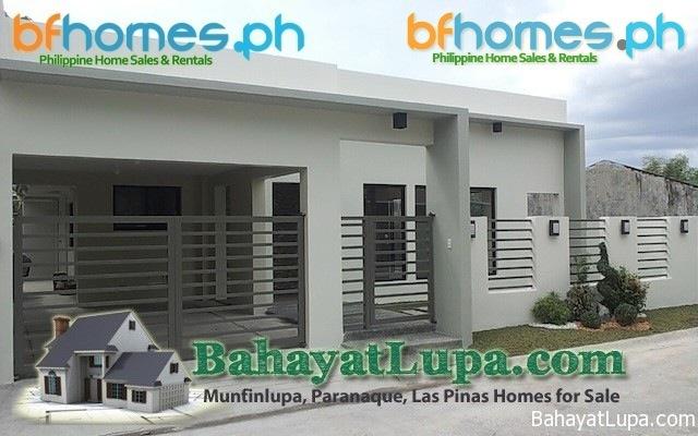 BF Resort Las Pinas Zen Inspired Bungalow.