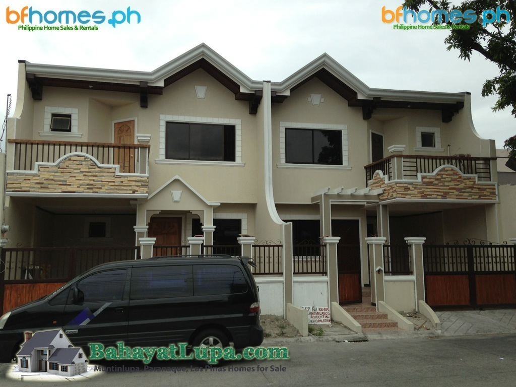 BF Resort Las Pinas 2 Storey Brandnew Duplex for Sale.