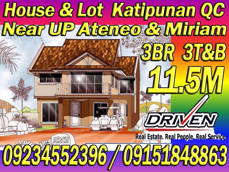 house and lot for sale katipunan qc loyola grand villas