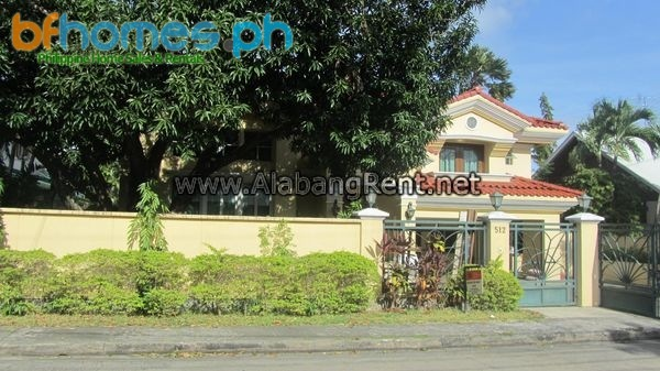 Renovated House in Ayala Alabang for Lease.