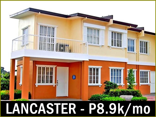 Affordable House and Lot for sale Lancaster Estates