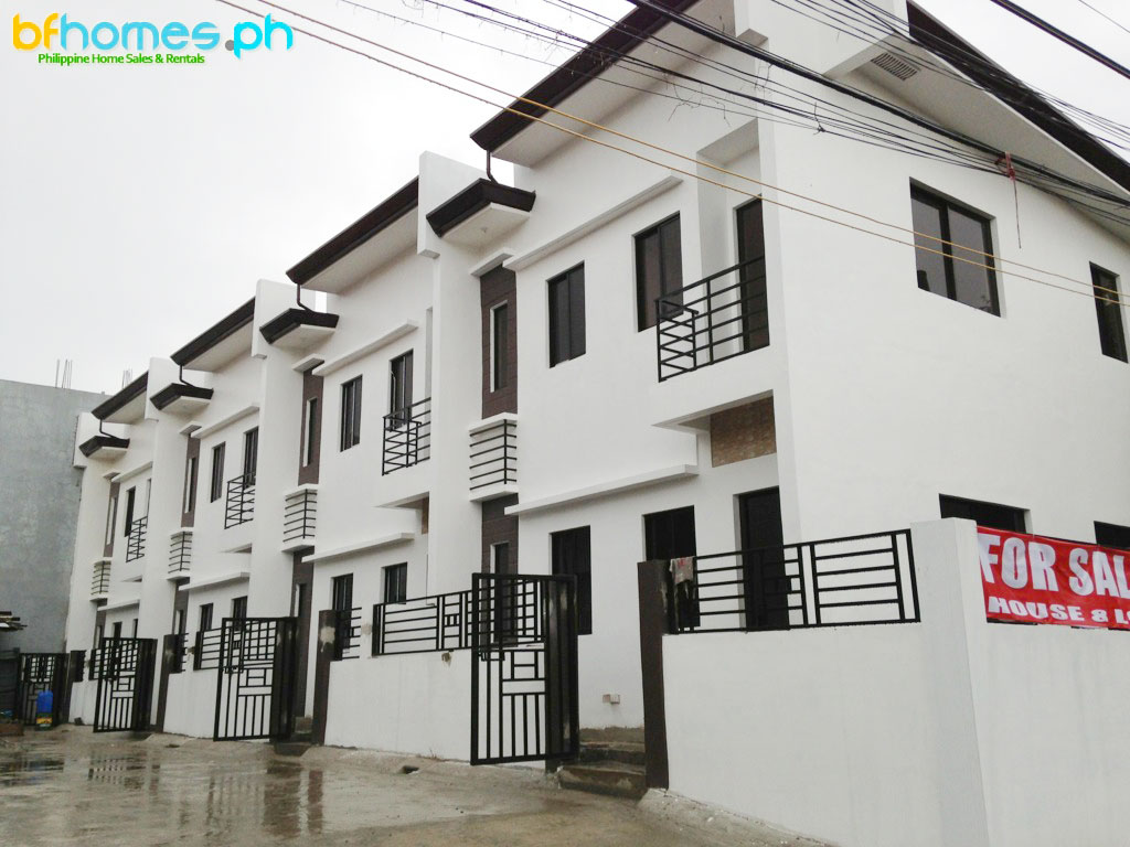 Brand-new Townhouse for Sale in BF Resort Las Pinas.