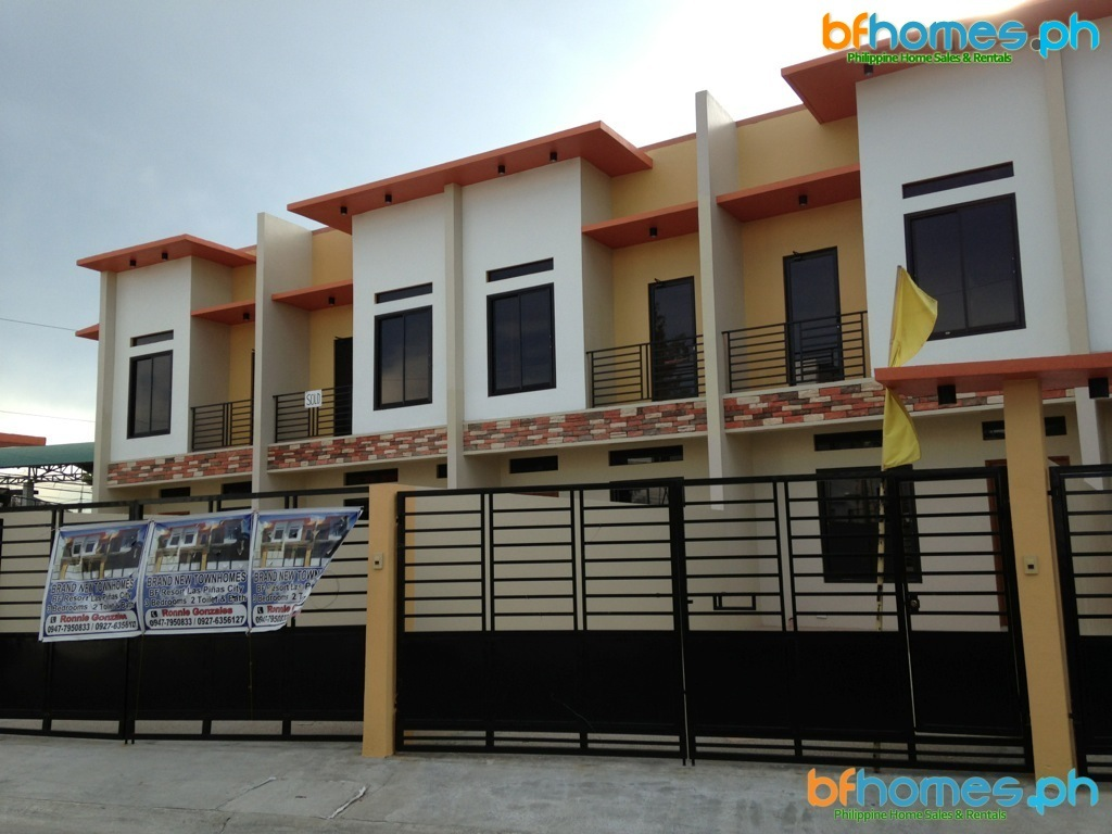 Brandnew Townhouse Units for Sale in BF Resort Las Pinas.