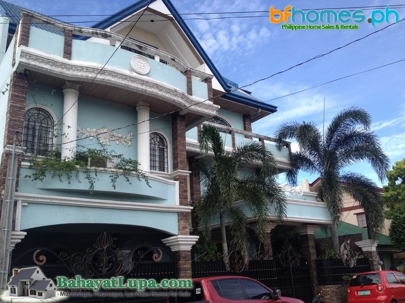 Pilar Village Las Pinas 4 Storey House with Indoor Pool for Sale.