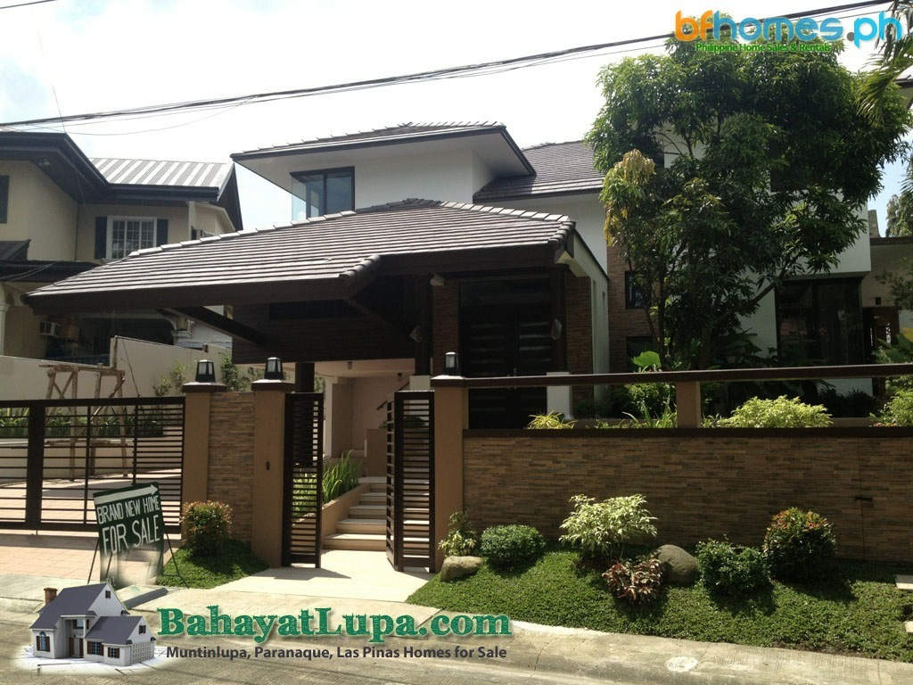 Ayala Alabang Brandnew Modern Zen House for Sale Philippines.