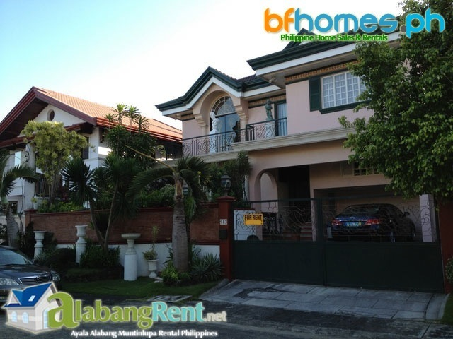 For Sale Well Maintain House with Pool in Ayala Alabang Village Muntinlupa Philippines.