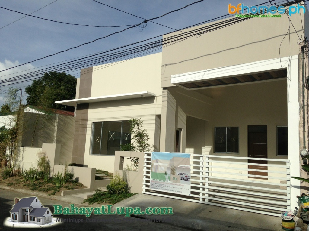 Brandnew Bungalow House for Sale in BF Homes Paranaque Philippines.