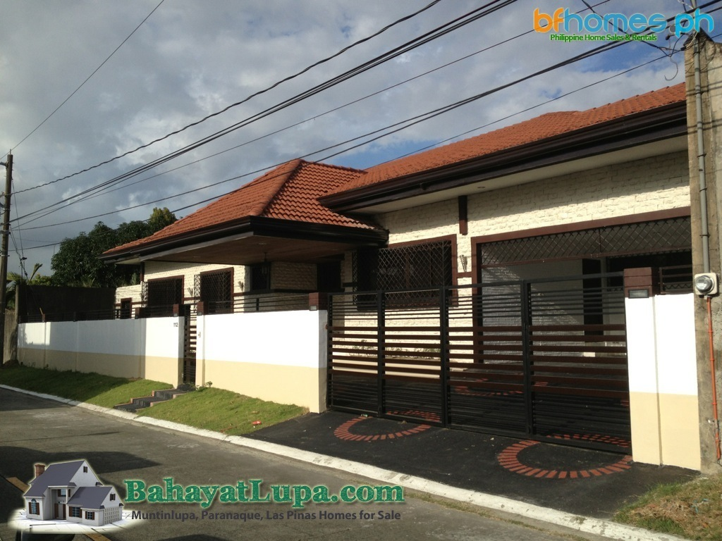 Newly Renovated Bungalow house for sale in BF Homes Paranaque.