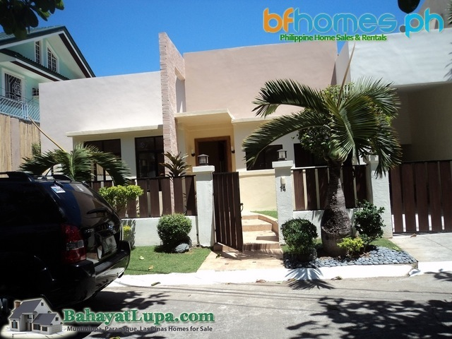 BF Homes Pque Philippines Newly Renovated Bungalow for Sale.