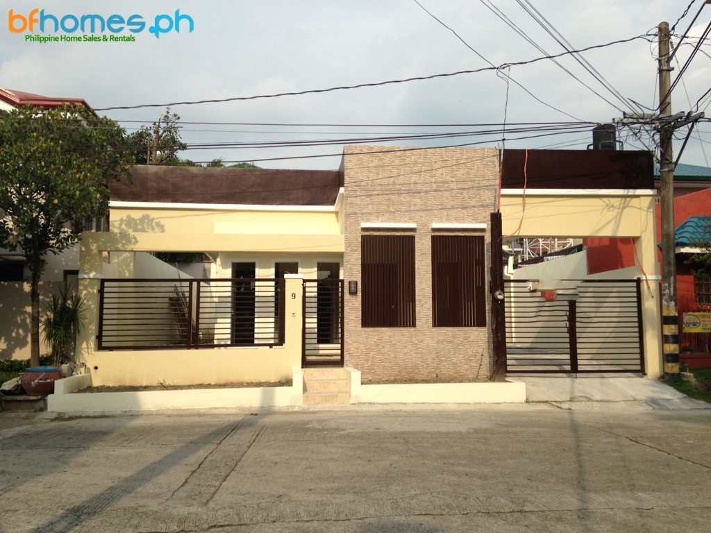 Brandnew Bungalow House for Sale in BF Homes.