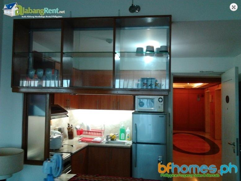 For Rent 1BR La Vie Flats Residential Condominium Filinvest Alabang.