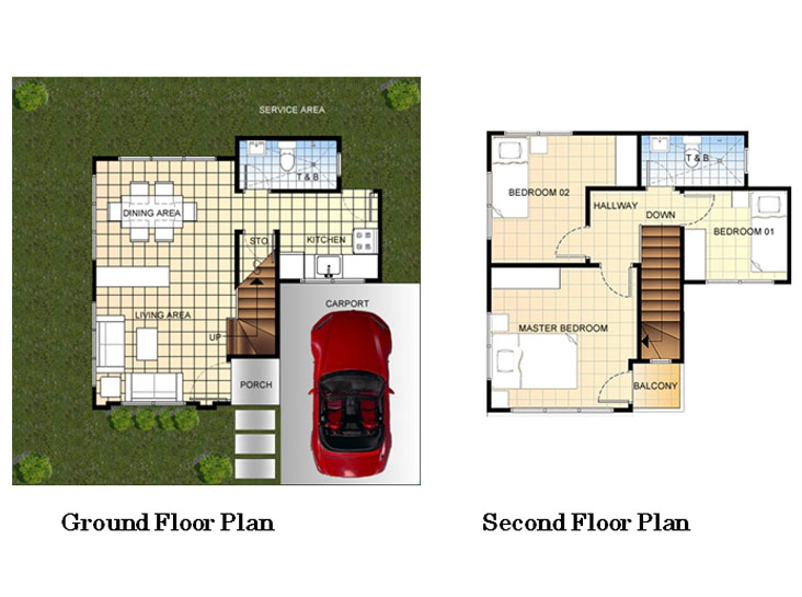 Kiara Model House and Lot Floor Plan Mactan Plains