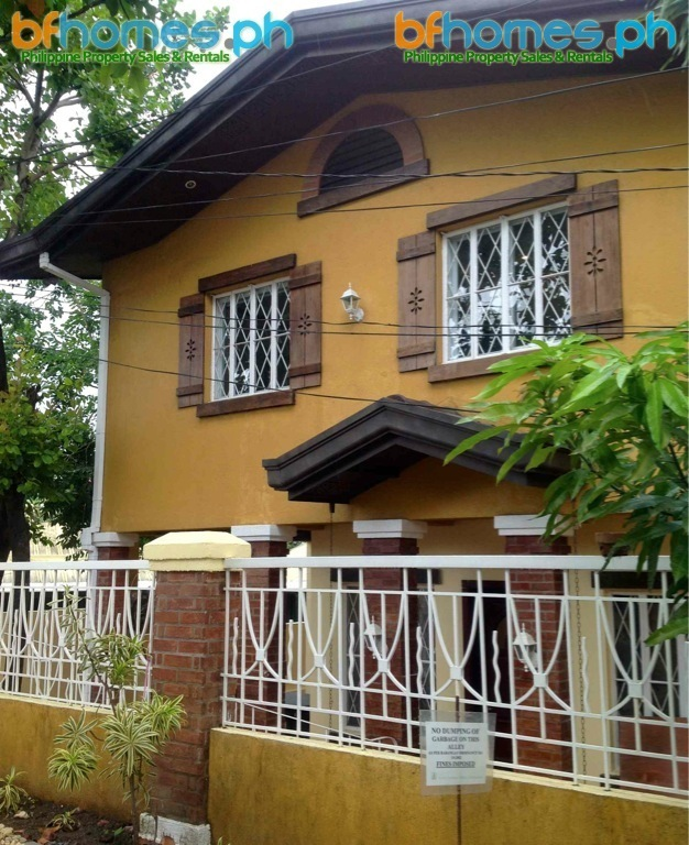 For Sale or Rent: Ayala Alabang Two-story townhouse in nice alley.