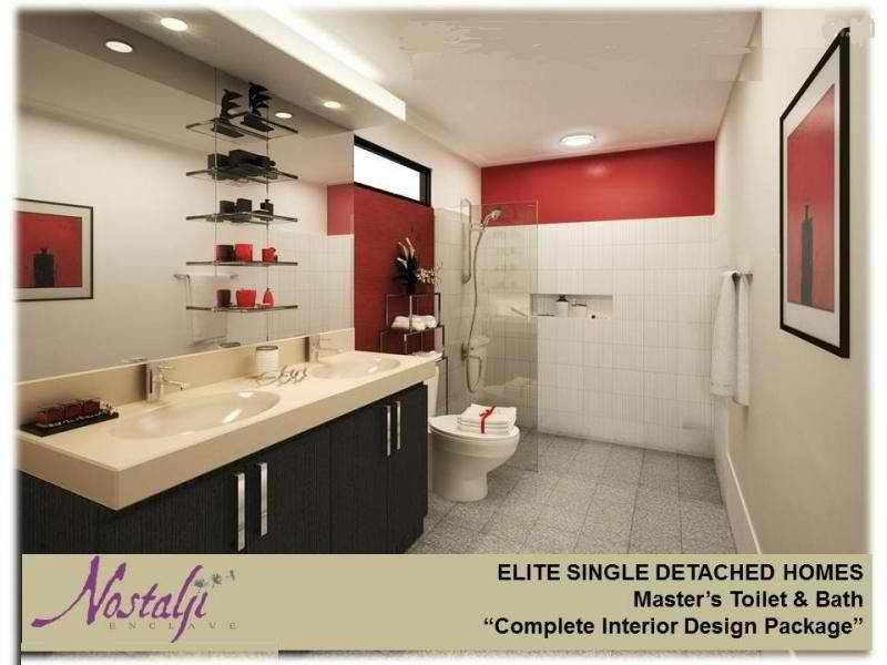 Nostalji Enclave Elite Single Detached Homes Restroom