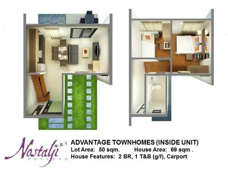 Nostalji Enclave Townhomes Floor Plan