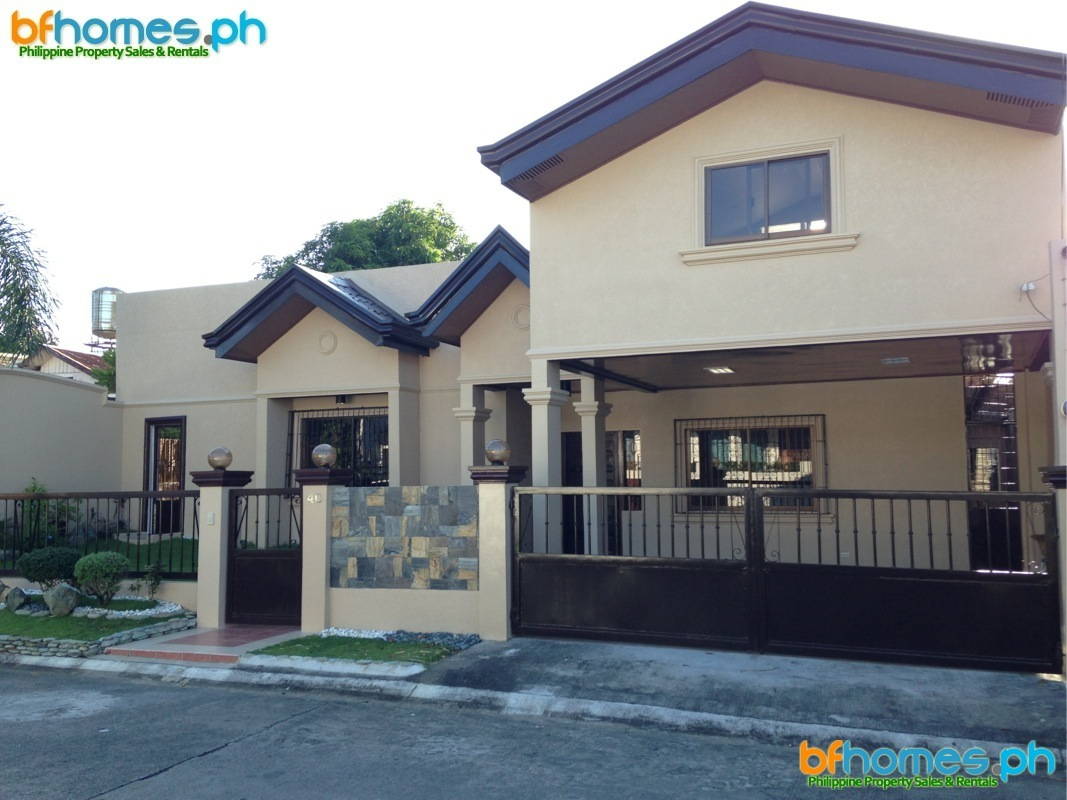 Newly Renovated Bungalow for Sale in BF Homes Las Piñas.