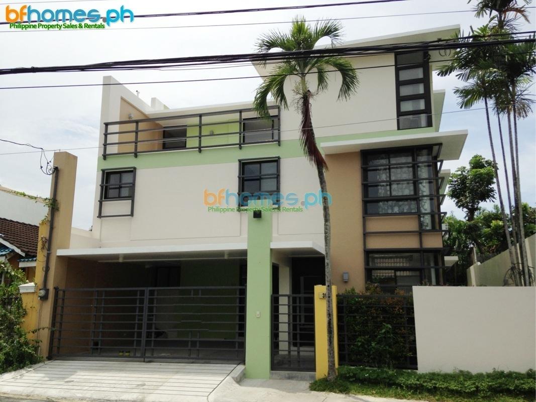 Ayala Alabang Village 4 Bedroom House for Rent.