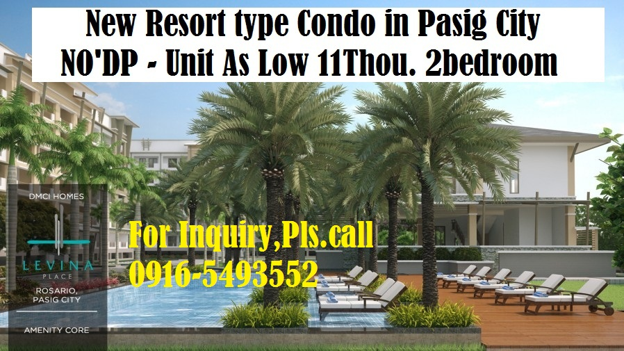 Hotel & Resort type Condo in Pasig City
