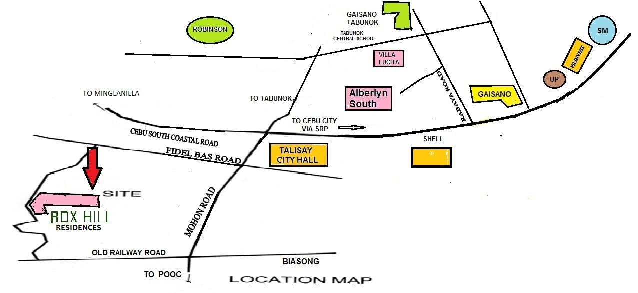 Alberlyn Box Hill Residences Location Map