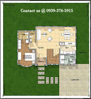 Sarconi Floor Plan