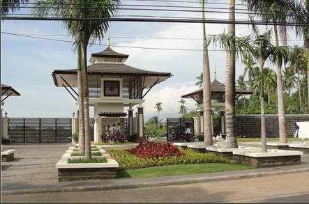 Amiya Resort Main Entrance