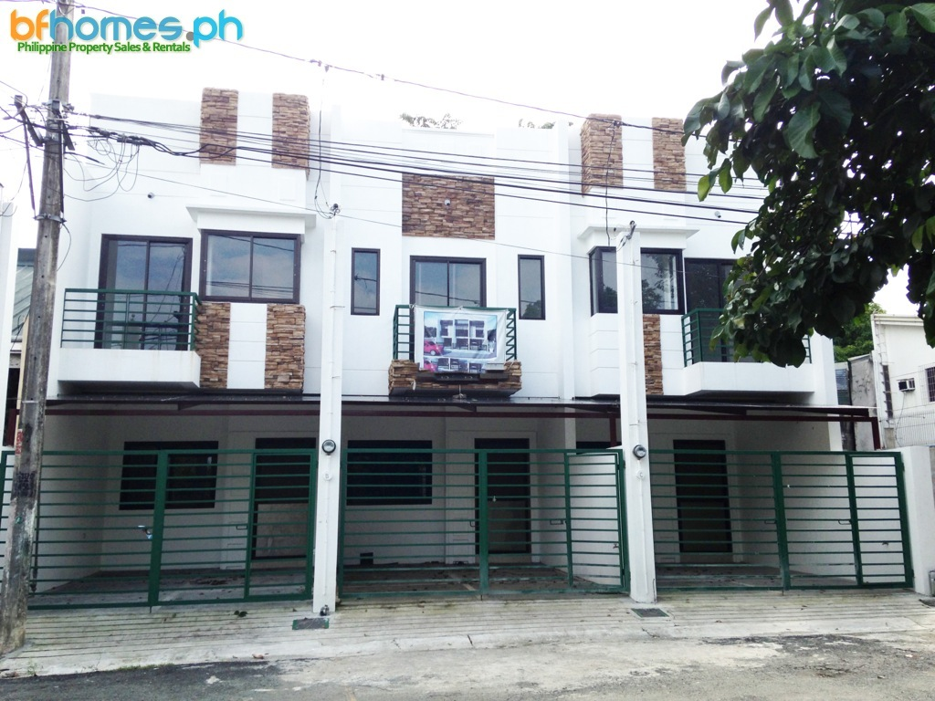 Brandnew 2 Story Triplex House for Sale in Greenheights Paranaque City.