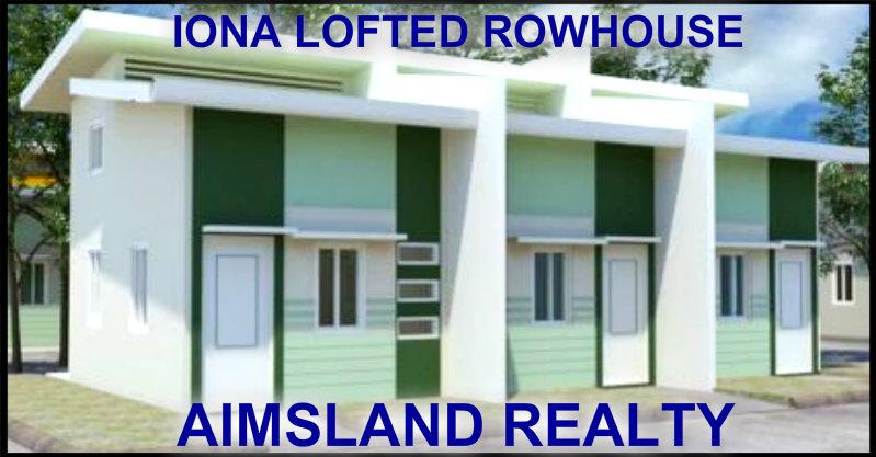NUVISTA IONA LOFTED ROWHOUSES IN SAN JOSE BULACAN, NEAR MRTLINE 7, STARMALL BULACAN