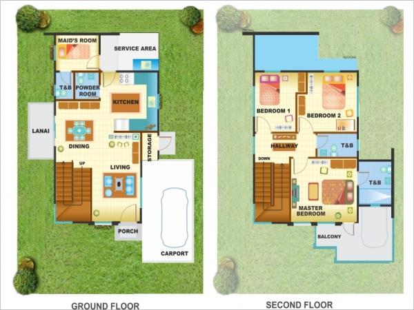 Washington Floor Plan