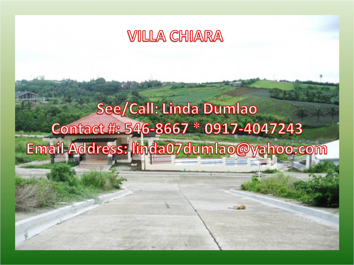 FOR SALE: Lot / Land / Farm Tagaytay