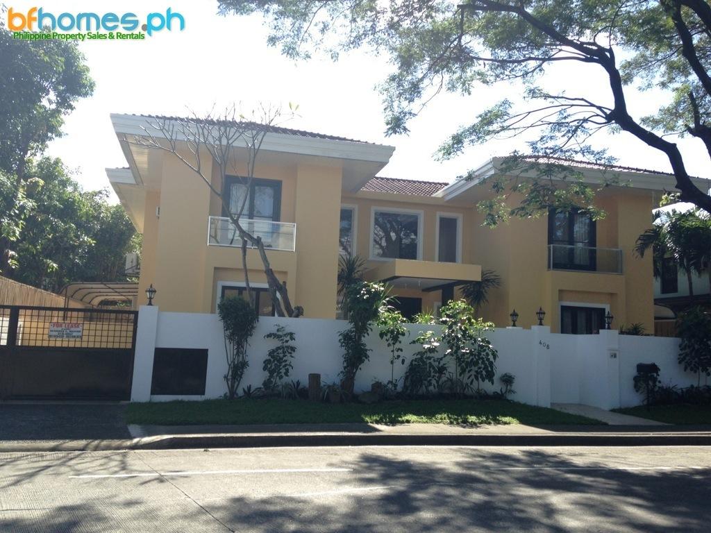 Refurbished House for Rent in Ayala Alabang Village Muntinlupa.