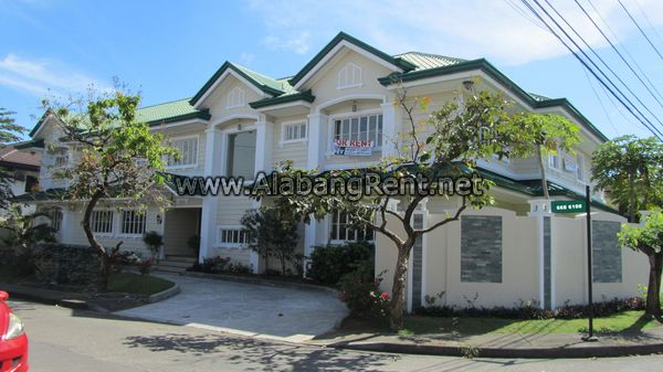 Massive House for Rent in Ayala Alabang.