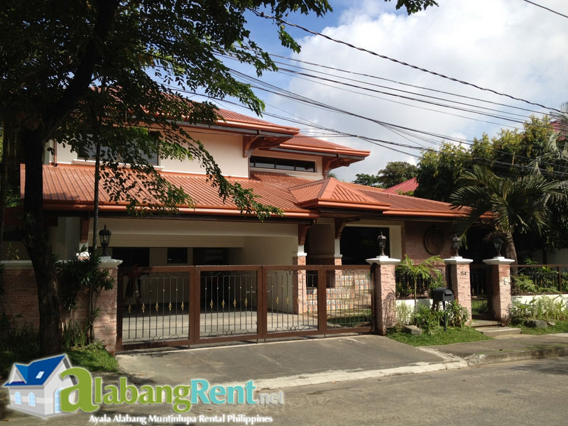 Rent Philippines, Renovated 3 Bedroom House in Ayala Alabang Village.
