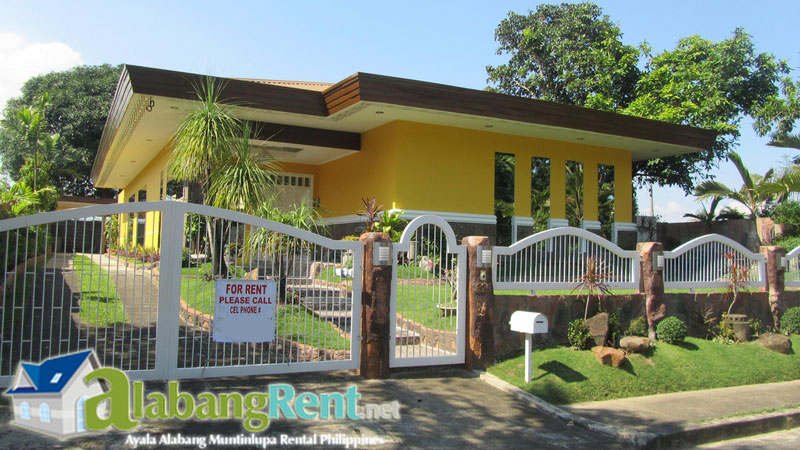 Newly Renovated Bungalow for Rent in Ayala Alabang Muntinlupa Philippines.