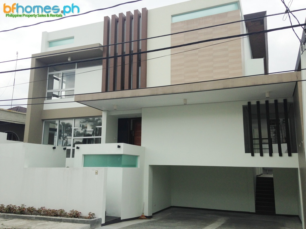 Brandnew 3 Story House and Lot in Tahanan Village Subdivision.
