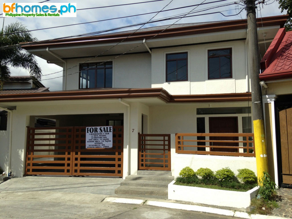 Newly Renovated 2 Story House for Sale in BF Homes Pque. City.
