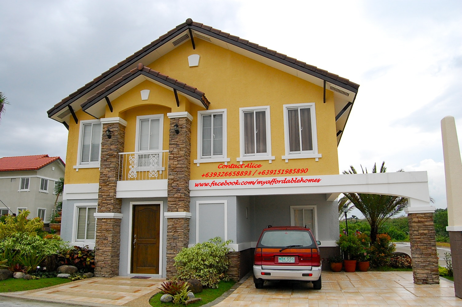 44k per month, Viviene Single House in Bellefort Estates