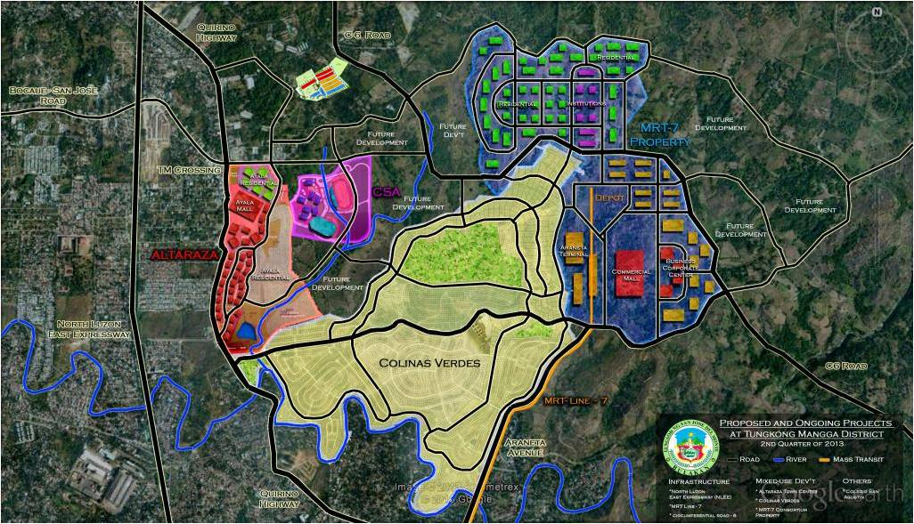 EXISTING AND FUTURE DEVELOPMENTS IN SAN JOSE DEL MONTE CITY, BULACAN