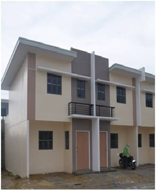 Angeli Townhome cluster at Northridge Lane, also in San Jose del Monte City, Bulacan