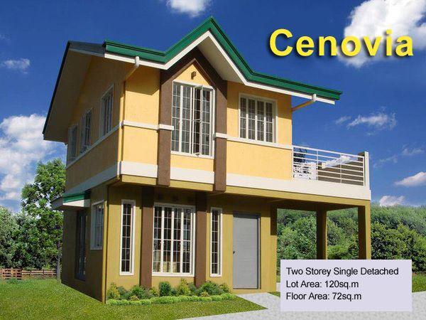 Dasmarinas Cavite Cenovia Two Storey Single Detached